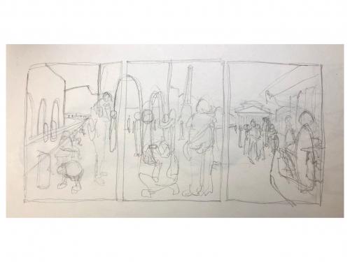Camille Gatapia - Sketches prt2
