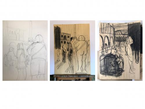 Camille Gatapia - Sketches prt1