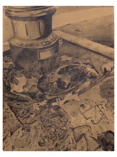 Camille Gatapia - La Fontanella drawing