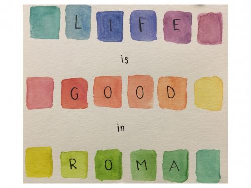 Courtney Cooley - Watercolor prt 1