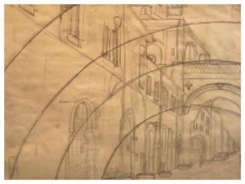 Darya Geary - Triptych Drawing prt1