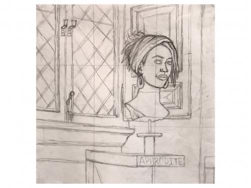 Darya Geary - Watercolor Drawing