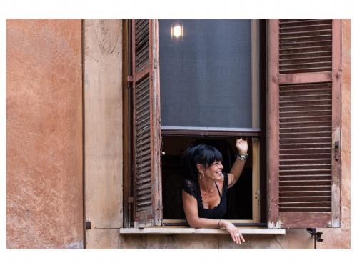 Lydia Anez - Lady in a Window