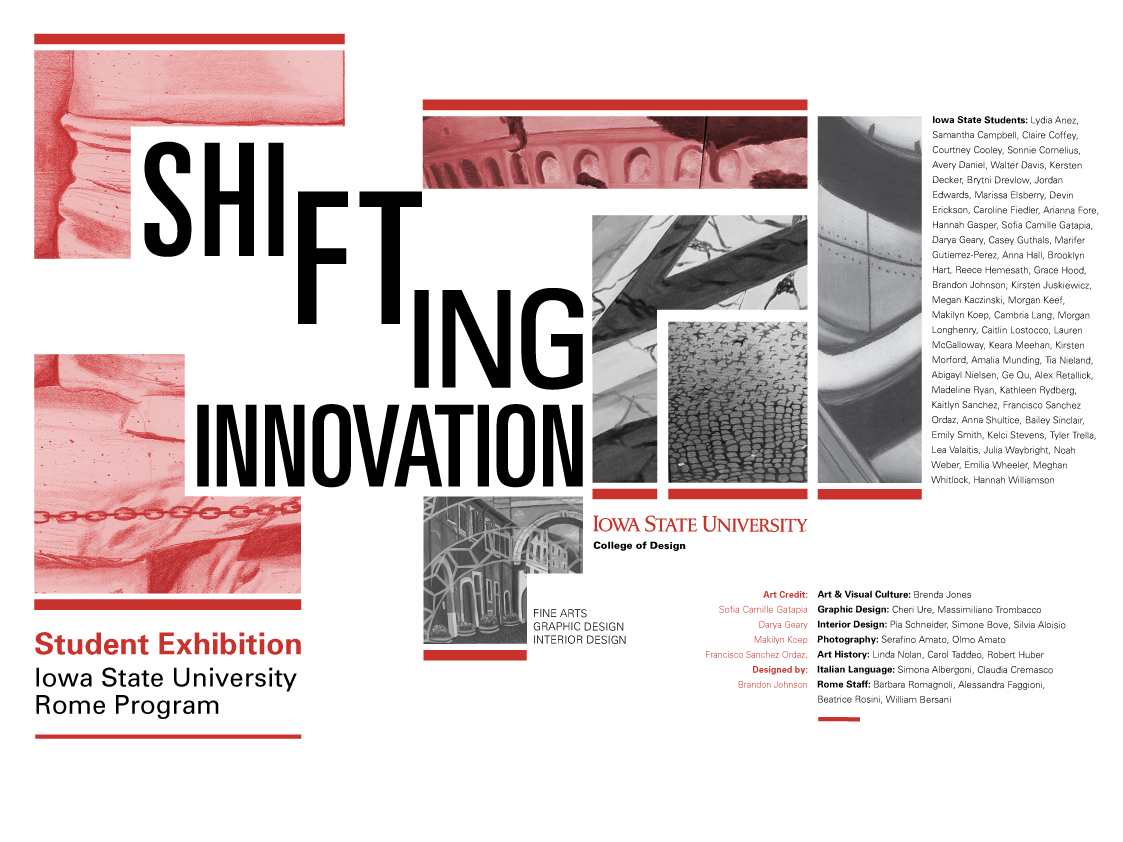 Shifting Innovation — Rome Exhibition 2019